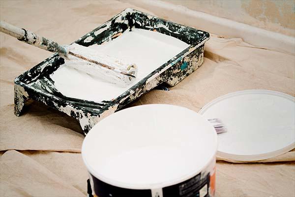 RJ Déco - Décoration d'intérieur en Belgique - Finissions - Peinture en bâtiment
