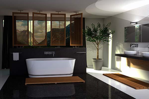 RJ Déco - Décoration d'intérieur en Belgique - Finissions - Sanitaires - Salles de bain d'exception
